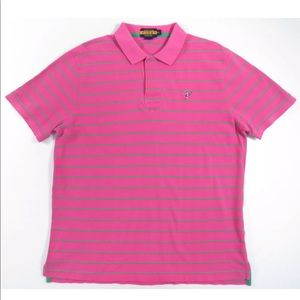 Ralph Lauren Cookie Scribble Striped Polo Shirt
